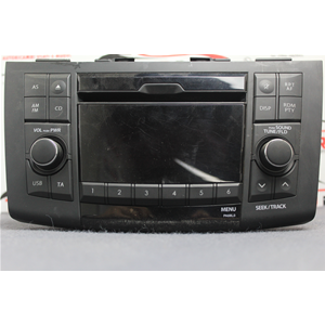 3910168l00 autoradio stereo cd usb suzuki swift 4 fz nz 2010 in poi 39101 68l00 hvw. Black Bedroom Furniture Sets. Home Design Ideas
