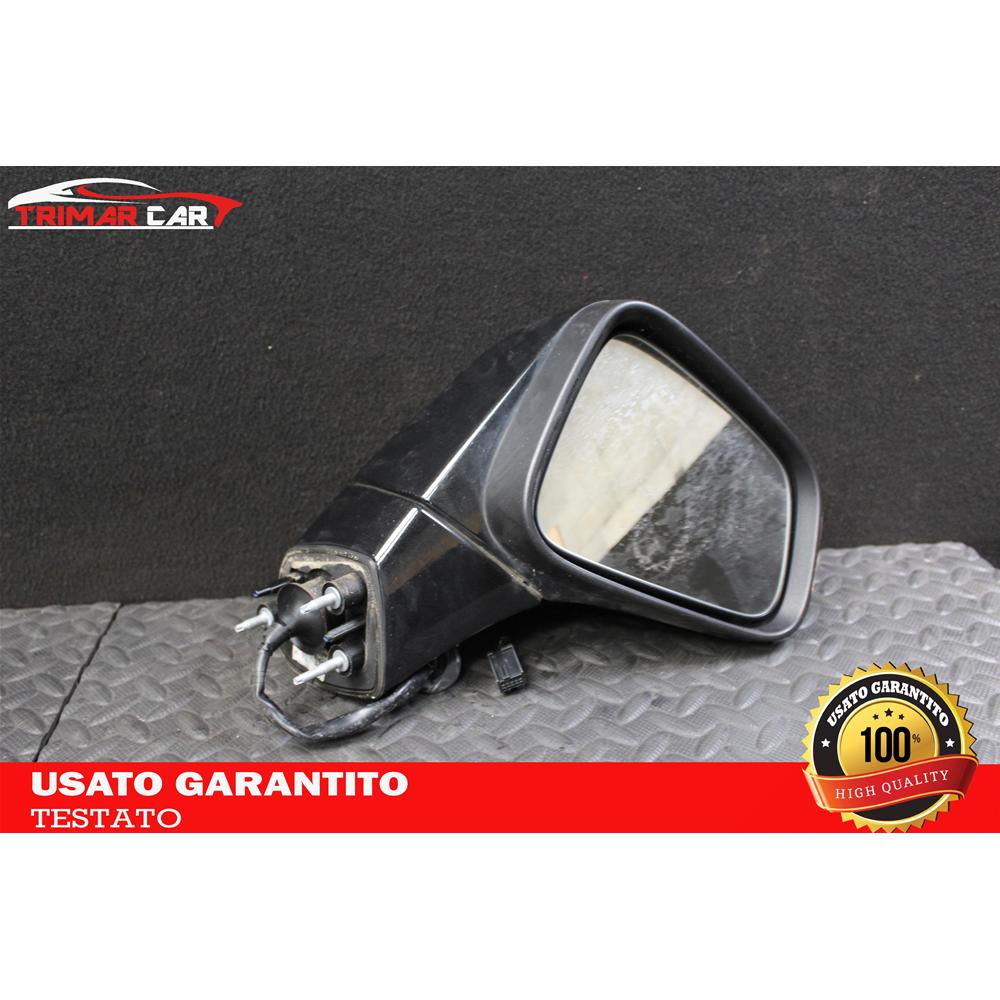 Con Fanale - Manuale Lato Passeggero 7432507023078 Derb Specchio Specchietto Retrovisore Dx Destro