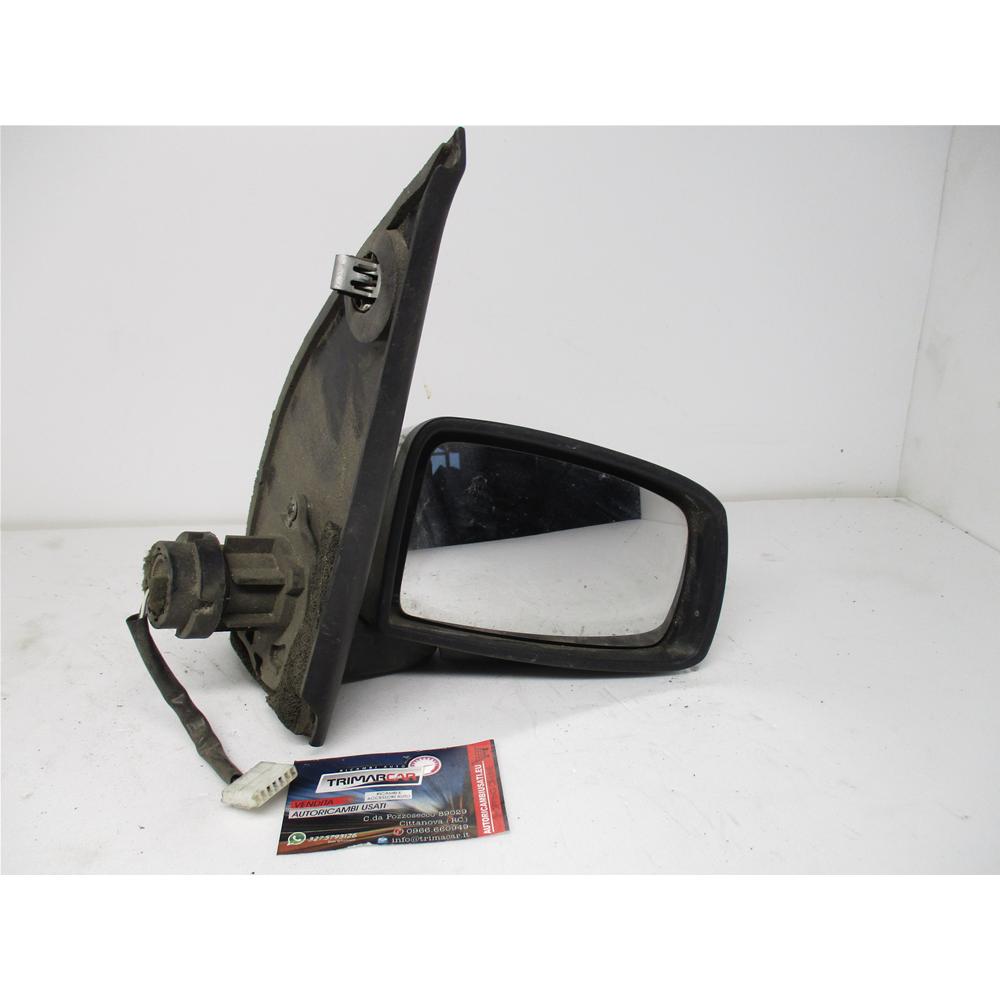 Meccanico Versione 5 Porte Calotta Nera 7445609198100 Derb Specchio Specchietto Retrovisore Dx
